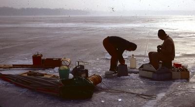 Gull Lake sampling